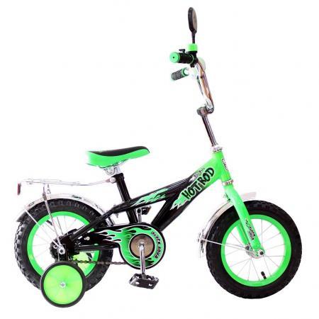 Велосипед двухколёсный Rich Toys BA Hot-Rod 12 1S зеленый 5419/KG1206 детский велосипед hot rod 12 12134 orange