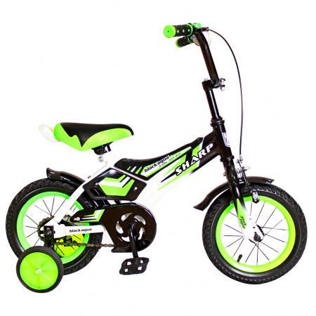 Велосипед двухколёсный Rich Toys KG1210 BA Sharp 12 1S зеленый 5431 велосипед rich toys ba hot rod 12 1s оранжевый 5420 kg1206