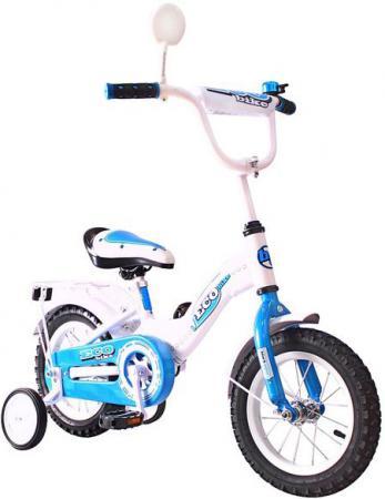 Велосипед двухколёсный Rich Toys Aluminium BA Ecobike голубой 5412/KG1221 велосипед двухколёсный rich toys ba camilla 14 1s розовый kg1417
