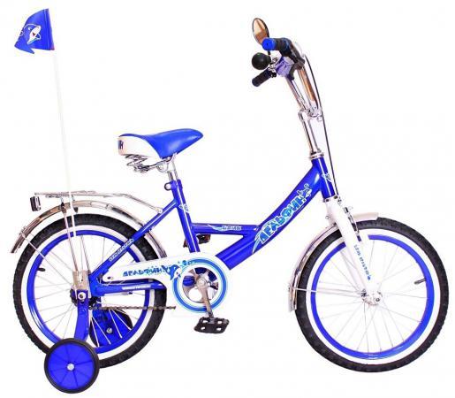 """Велосипед двухколёсный Rich Toys BA Дельфин 14""""; 1s РОССИЯ синий KG1405"""