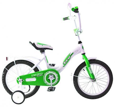 Велосипед двухколёсный Rich Toys Aluminium BA Ecobike зеленый 5413/KG1421
