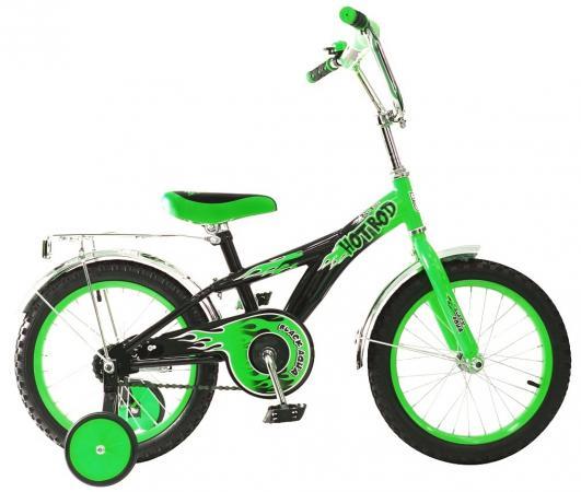 Велосипед двухколёсный Rich Toys BA Hot-Rod 16 1s зеленый KG1606 rt kg1606 2 х колесный велосипед ba hot rod 16 1s оранжевый