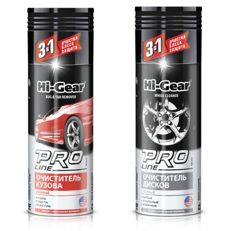 Очиститель кузова Hi Gear HG5626 + очиститель дисков HG5352 полироль для панели hi gear hg 5615 очиститель интерьера hg 5619