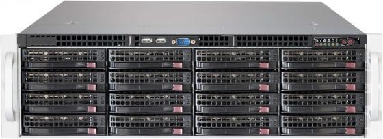 Серверный корпус 3U Supermicro CSE-836BE1C-R1K03JBOD 1000 Вт чёрный серверный корпус 3u aic j3016 01 549 вт чёрный