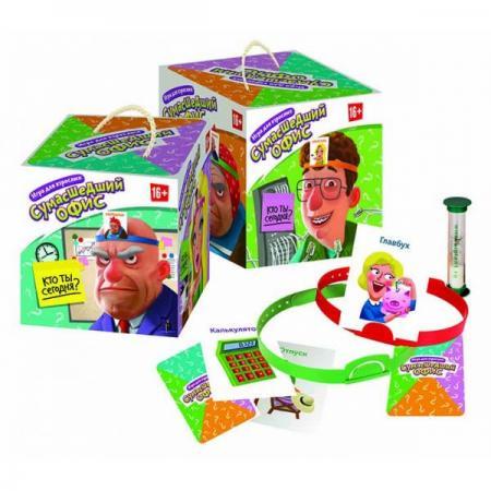 Настольная игра семейная Биплант Сумасшедший офис 10043 настольная игра zuru inc семейная торт в лицо