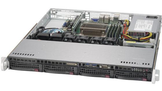 Серверная платформа SuperMicro SYS-5019S-MN4 серверная платформа intel r2208wt2ysr 943827