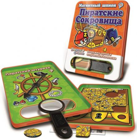 Магнитная игра развивающая Mack & Zack SP_TRE Пиратские Сокровища 4897030664168 bumbaram магнитные шашки mack and zack mt002