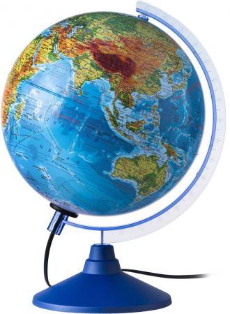 Глобус Земли физико-политический с подсветкой 250 серия Евро Globen Ке012500191