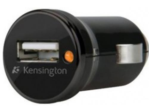 Автомобильное зарядное устройство Kensington K38054EU 1A USB черный автомобильное зарядное устройство kensington k38057eu miniusb черный