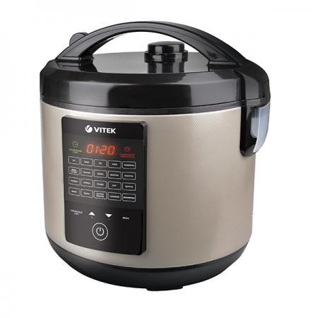 Мультиварка Vitek VT-4271 CM 900 Вт 5 л черный серебристый vitek vt 1182 cm