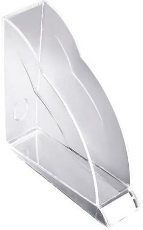 Подставка для журналов Rexel Nimbus вертикальная прозрачный 2101499
