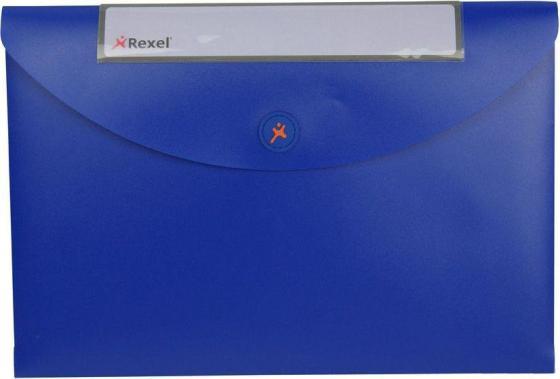 Папка-конверт Rexel Optima A4 синий 5шт 2102478 папка конверт rexel optima a4 синий 5шт 2102478