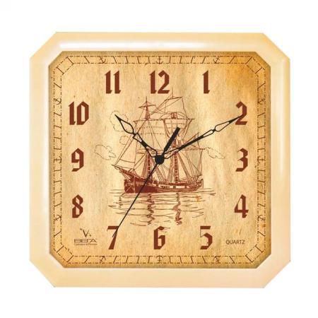 Часы настенные Вега 4-14/7-69 Парусник часы настенные вега п 4 14 7 86 новогодние подарки