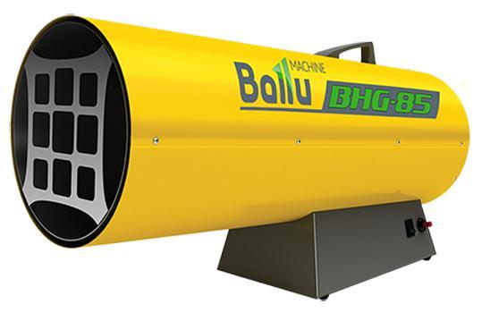 Тепловая пушка BALLU BHG-85 75000 Вт желтый цена и фото