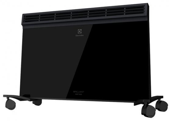 Конвектор Electrolux ECH/B-2000 E Brilliant 2000 Вт чёрный конвектор electrolux ech b 1000 e brilliant 1000 вт таймер дисплей чёрный