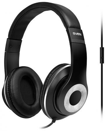 Гарнитура Sven AP-930M серебристо-черный гарнитура sven ap 370m черный