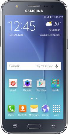 Смартфон Samsung Galaxy J7 2016 черный 5.5 16 Гб LTE Wi-Fi GPS 3G NFC SMJ710FZKUSER смартфон asus zenfone live zb501kl золотистый 5 32 гб lte wi fi gps 3g 90ak0072 m00140