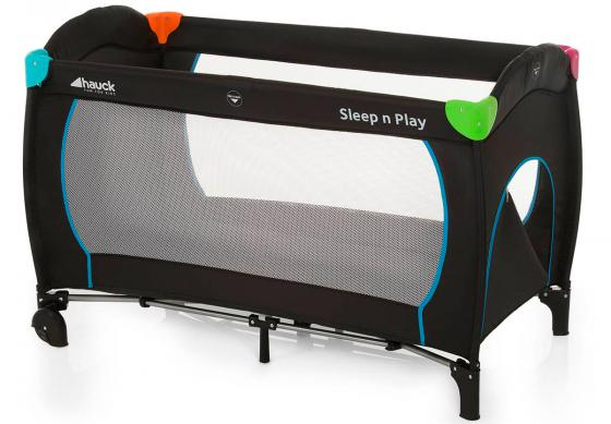 Манеж-кровать Hauck Sleep`n Play Go Plus (multicolor black)