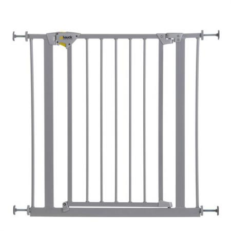 Ворота безопасности Hauck Trigger Lock Safely Gate (silver) барьеры и ворота safety 1st ворота безопасности wall fix metal extending gate 62 102 см