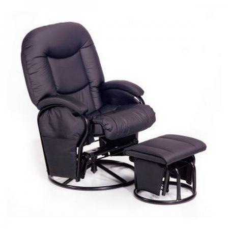 Кресло-качалка Hauck Metal Glider (black)