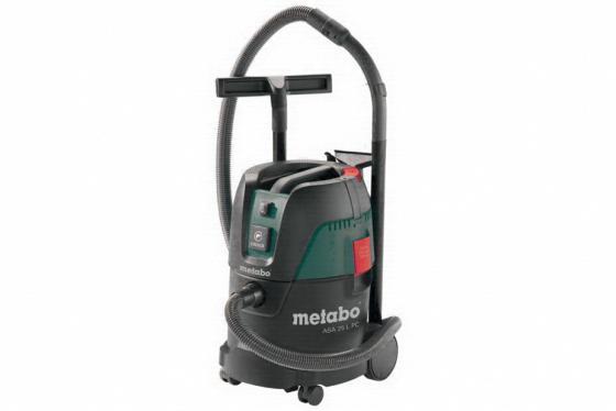 Промышленный пылесос Metabo ASA25LPC 602014000 сухая уборка зелёный чёрный пылесос metabo asa 25 l pc