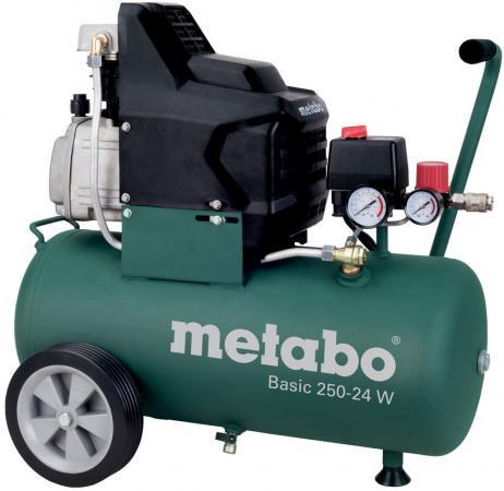 Компрессор Metabo 250-24Wмасляный поршневой 601533000 масляный компрессор metabo basic250 24w 601533000