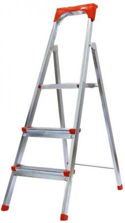 Лестница-стремянка Fit стальная 3 ступени 65331 цена