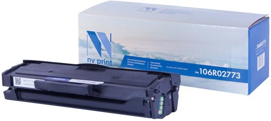 Картридж NV-Print 106R02773 для Xerox Phaser 3020/WorkCentre 3025 черный 1500стр nv print 106r01632m magenta тонер картридж для xerox phaser 6000 6010