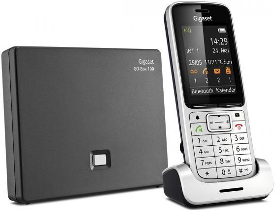 Телефон IP Gigaset SL450A GO серебристый S30852-H2721-S301 телефон ip gigaset a540 ip черный