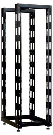 Стойка телекоммуникационная универсальная двухрамная 42U ЦМОСТК-42.2-9005 цена и фото