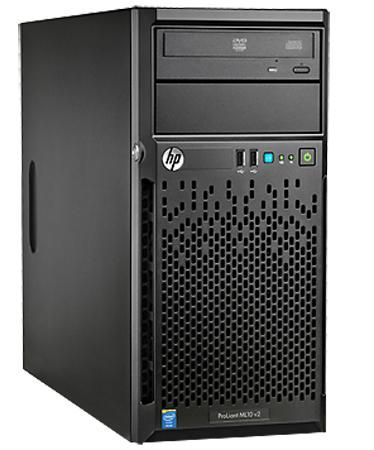 Сервер HP ProLiant ML10v2 837829-421 сервер hp proliant ml150 834608 421