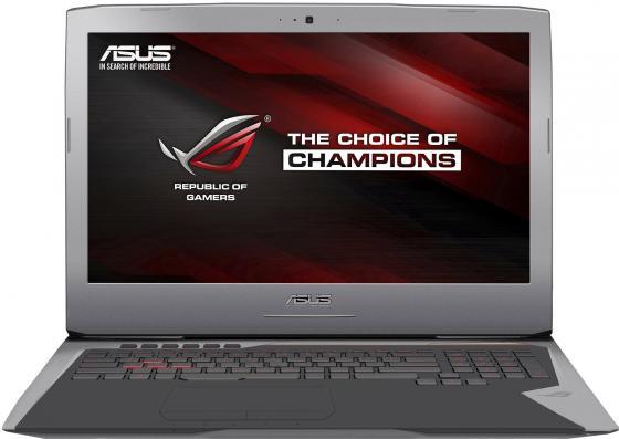 Ноутбук ASUS G752Vt 17.3 1920x1080 Intel Core i7-6700HQ 1 Tb 128 Gb 8Gb nVidia GeForce GTX 970M 3072 Мб серебристый Windows 10 Home 90NB09X1-M01700 ноутбук asus k501ux dm282t 15 6 intel core i7 6500 2 5ghz 8gb 1tb hdd geforce gtx 950mx 90nb0a62 m03370