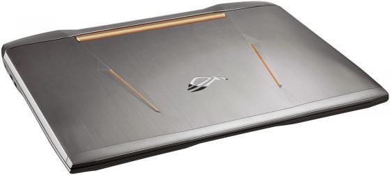"Ноутбук ASUS G752Vt 17.3"" 1920x1080 Intel Core i7-6700HQ 1 Tb 128 Gb 8Gb nVidia GeForce GTX 970M 3072 Мб серебристый Windows 10 Home 90NB09X1-M01700"