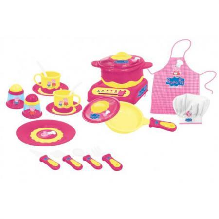 Набор посуды Peppa Pig Пеппа-повар 20 предметов 29701
