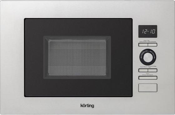 Микроволновая печь Korting KMI 720 X 800 Вт серебристый микроволновая печь lg mh6044v 800 вт серебристый