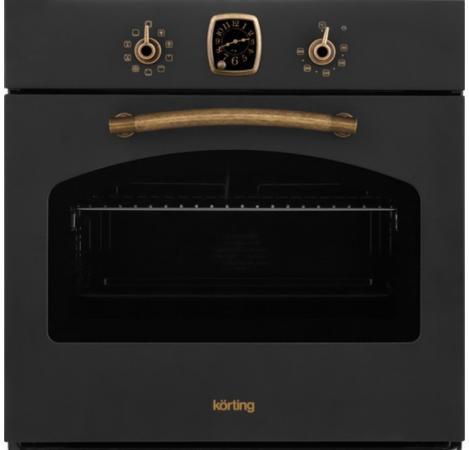 Электрический шкаф Korting OGG 741 CRN черный