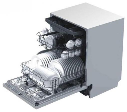 Посудомоечная машина Korting KDI 4550 белый встраиваемая посудомоечная машина korting kdi 4550