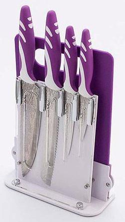 Набор ножей Mayer&Boch 24135 4 предметов на подставке + разделочная доска mayer&boch