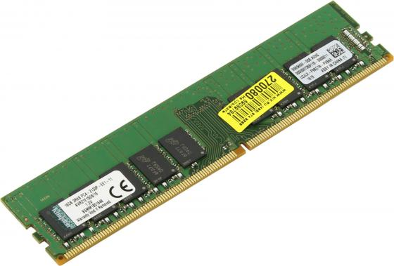 Оперативная память 16Gb PC4-17000 2133MHz DDR4 DIMM CL15 Kingston KVR21E15D8/16