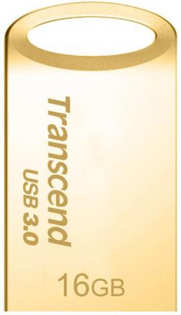 Флешка USB 16Gb Transcend JetFlash 710 TS16GJF710G золотистый флешка usb 16gb transcend jetflash 710 ts16gjf710g золотистый