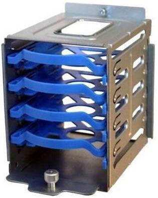 """Корзина для дисков SuperMicro 4x2.5"""" MCP-220-73201-0N корзина supermicro для жестких дисков cse m35tqb"""