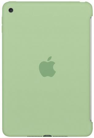 Чехол Apple Silicone Case для iPad mini 4 зеленый MMJY2ZM/A lab c slim fit case чехол для apple ipad mini 4 red