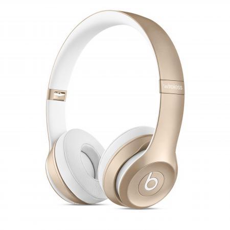 все цены на  Bluetooth-гарнитура Apple Beats Solo2 Wireless Headphones золотистый MKLD2ZE/A  онлайн