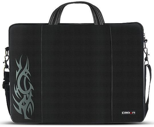 """все цены на Сумка для ноутбука 15.6"""" Crown CMB-437 синтетика черный"""
