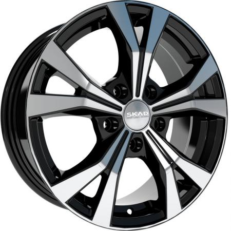 Диск Скад Нагано Селена 6.5xR16 5x105 мм ET39 Серебристый литой диск nz wheels f 56 6x15 5x105 d56 6 et39 mbfrs