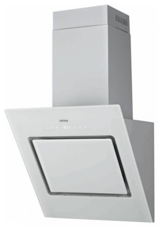 Вытяжка каминная Korting KHC 61080 GW белый встраиваемая кухонная вытяжка korting khc 61080 gw