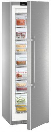 Морозильная камера Liebherr GNPes 4355-20 001 серебристый морозильный ларь liebherr gt 4932 20 001