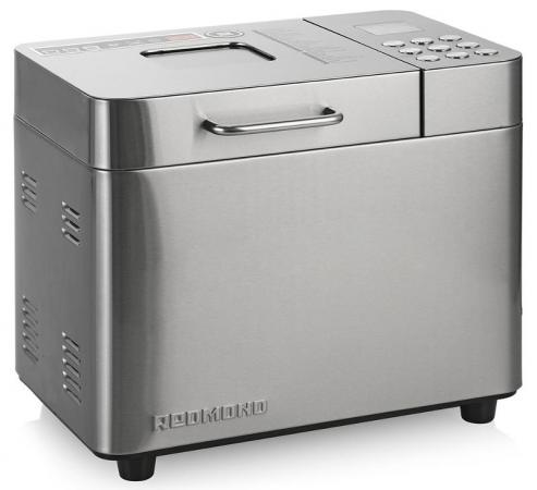 Хлебопечь Redmond RBM-M1910 серебристый bread maker redmond rbm m1911 free shipping bakery machine full automatic multi function zipper