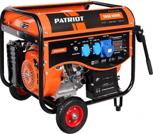 Генератор Patriot Max Power SRGE 6500E patriot power 300d