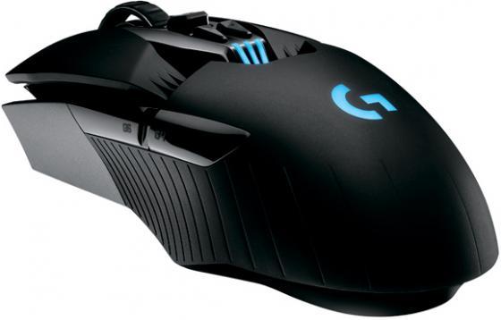 Мышь беспроводная Logitech G900 чёрный USB + радиоканал 910-004607